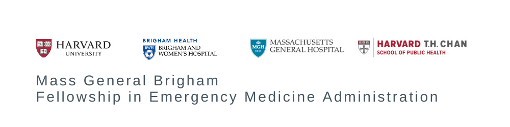 PHS Fellowship in Emergency Medicine Administration